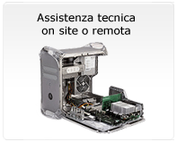 Assistenza tecnica on site o remota