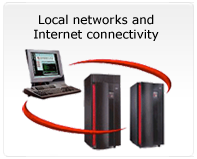 Local networks and Internet connectivity